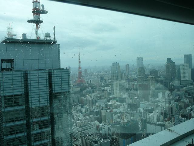窓越しに東京タワー.JPG